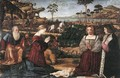 Holy Family with Two Donors - Vittore Carpaccio