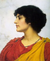 An Italian Girls' Head 2 - John William Godward
