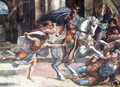 Heliodore's expulsation of temple - Raphael