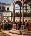 The Ambassadors Return to the English Court (detail 3) - Vittore Carpaccio