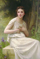 Reflexion [Reflection] - William-Adolphe Bouguereau