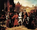The Entry of the Future Charles V into Paris in 1358 - Jean Auguste Dominique Ingres