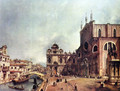 The Church of Saints John and Paul - (Giovanni Antonio Canal) Canaletto