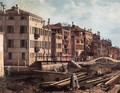 View of San Giuseppe di Castello (detail) - (Giovanni Antonio Canal) Canaletto