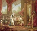 The Sultana Ordering Tapestries from the Odalisques - Charles-Amedee-Philippe van Loo