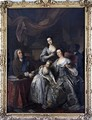 Richard Boyle 3rd Earl of Burlington and 4th Earl of Cork with his wife 0orothy Savile and their daughters - Jean Baptiste van Loo