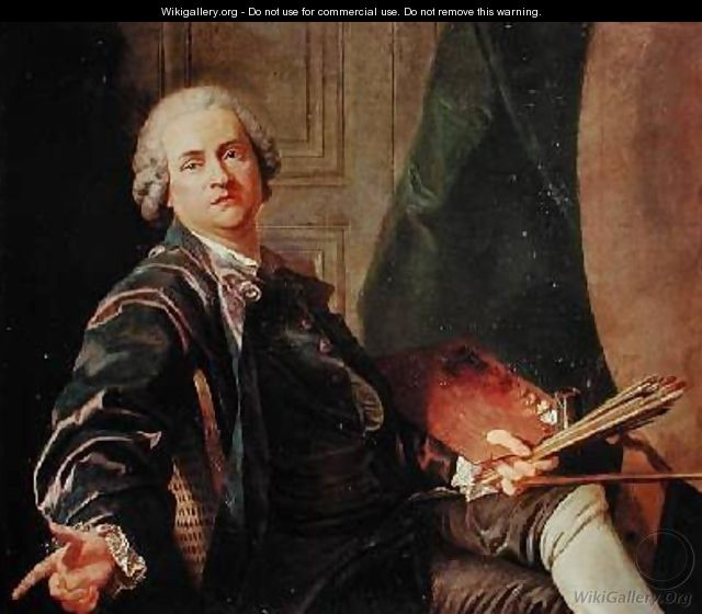 Self Portrait - Louis Michel van Loo