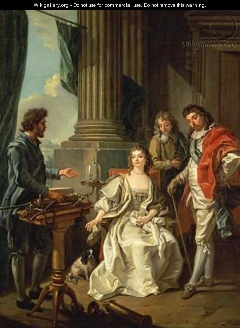 Electrical Experiment one of a series 2 - Louis Michel van Loo