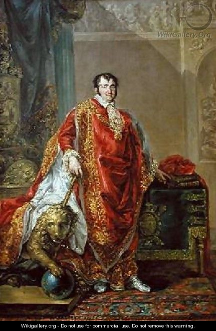 Portrait of Ferdinand VII 1784-1833 1808-11 - Vicente Lopez y Portana