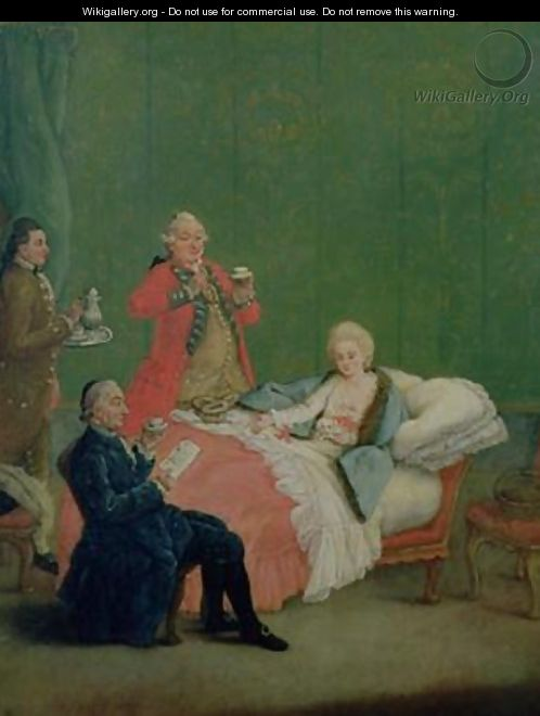 Early Morning Chocolate - Pietro Longhi