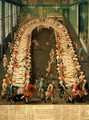 The Banquet at Casa Nani Given in Honour of their Guest Clemente Augusto Elector Archbishop of Cologne on 9th September 1755 - Pietro Longhi