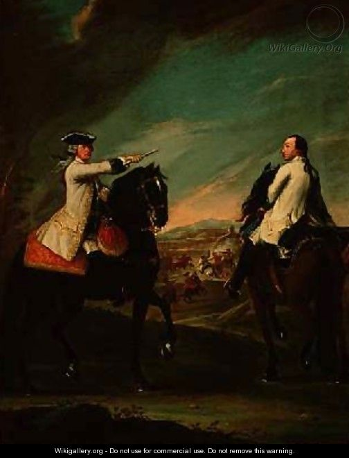 Guglielmo de Montfort and his Field Attendant - Pietro Longhi