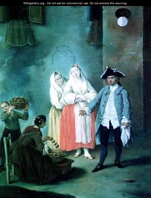 The Seller of Fritters - Pietro Longhi