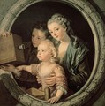 The Magic Lantern 1764 - Charles-Amedee-Philippe van Loo