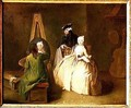 The Artists Studio 1746 2 - Pietro Longhi