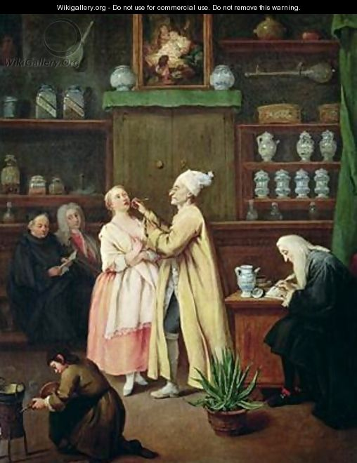 The Pharmacist - Pietro Longhi