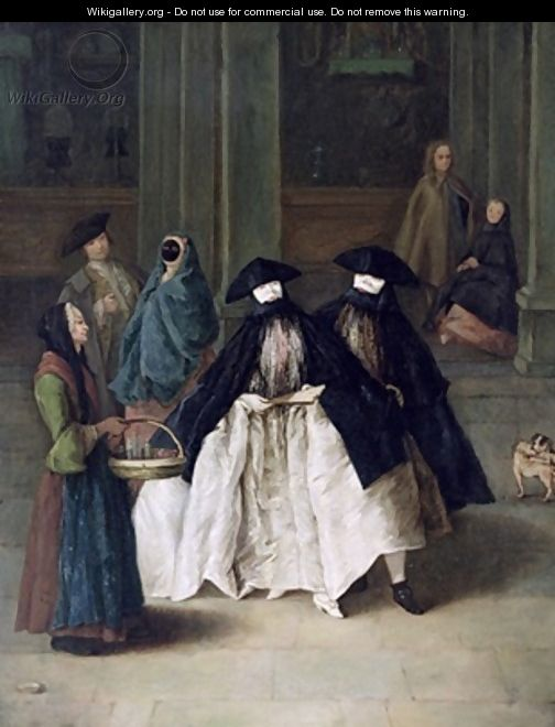 The Perfume Seller 2 - Pietro Longhi