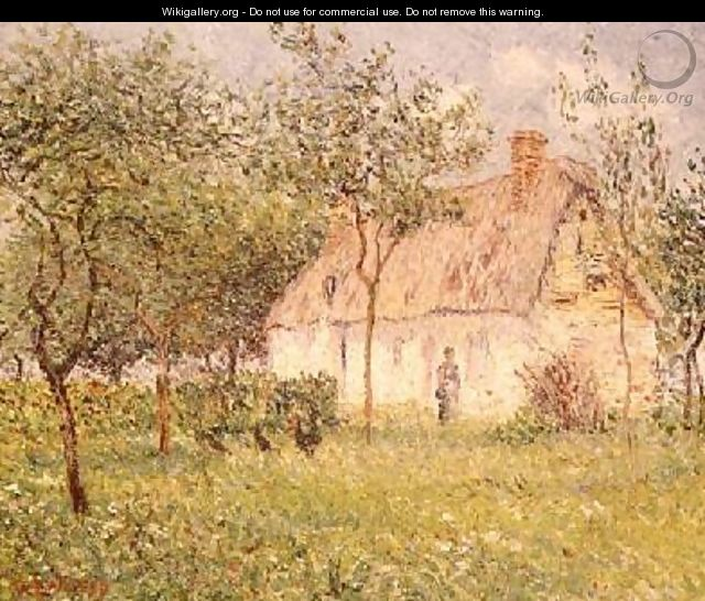 The Thatched Cottage 1895 - Gustave Loiseau