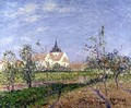 The Church at Vaudreuil 1905 - Gustave Loiseau