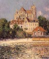 Auxerre Cathedral 1908 - Gustave Loiseau