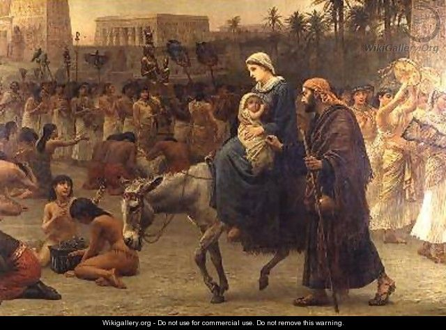 Anno Domini or the Flight into Egypt 1883 - Edwin Longsden Long