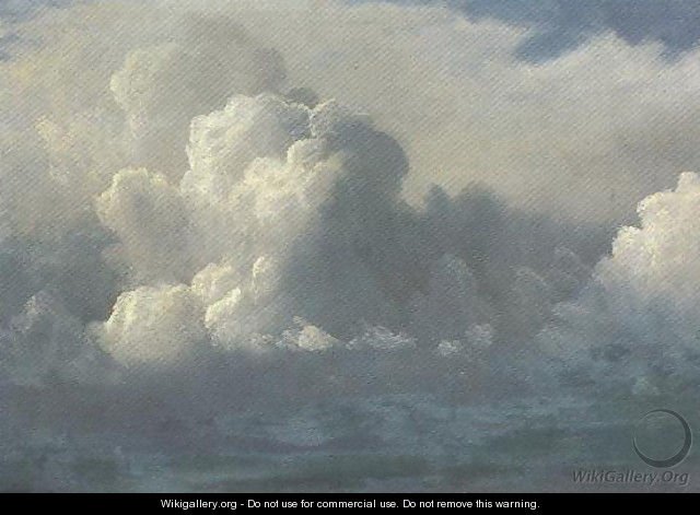 Storm Clouds 1880 - Albert Bierstadt