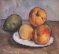 Still Life With Quince Apples And Pears 1885 87 - Paul Cezanne