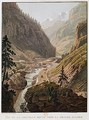 View of the New Simplon Pass 1811 - Mathias Gabriel Lory