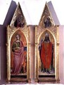 St Catherine and St Callixtus - Fra (Guido di Pietro) Angelico
