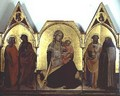 The Virgin of Humility triptych 1404 - Fra (Guido di Pietro) Angelico