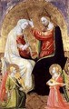 The Coronation of the Virgin - Bicci Di Lorenzo