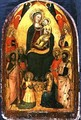 Madonna and Child Enthroned with Saints - Bicci Di Lorenzo