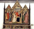 Annunciation with Saints 1414 - Bicci Di Lorenzo