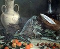 Still Life with Fruit and Vegetables - Jose Lopez-Enguidanos