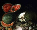 Still Life with Water Melons - Jose Lopez-Enguidanos