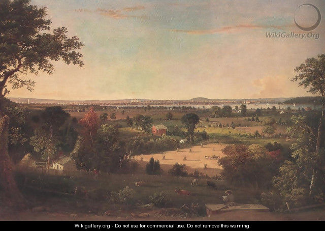 View Of The City Of Washington From The Virginia Shore 1856 - William MacLeod