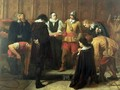 The Burial of Charles I 1600-49 at St Georges Chapel 1857 - Charles Lucy