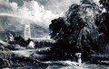 Stoke-by-Nayland after Constable - David Lucas