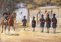 Soldiers of the 10th Duke of Cambridges Own Lancers Hodsons Horse The Quarter Guard - Alfred Crowdy Lovett
