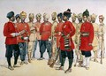 VCOs NCOs and sepoys of various Punjab Regiments - Alfred Crowdy Lovett