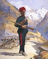 Gunner of the Mountain Battery Punjabi Musalman - Alfred Crowdy Lovett