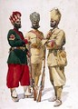 Soldiers of the 43rd Erinpura Regiment - Alfred Crowdy Lovett