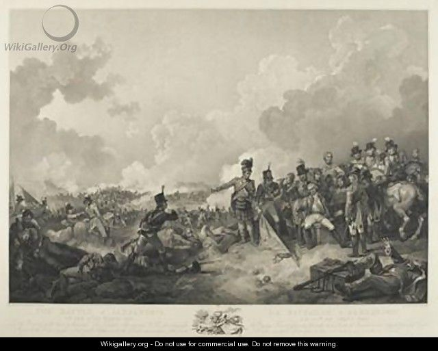 The Battle of Alexandria - (after) Loutherbourg, Philippe de