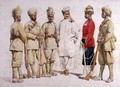 Soldiers of the 19th Punjabis Afridi of Tirah - Alfred Crowdy Lovett