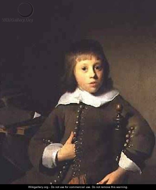 Portrait of a Young Boy - Isaac Luttichuys