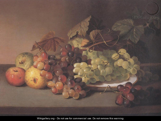 Grapes And Apples 1825 31 - James Peale