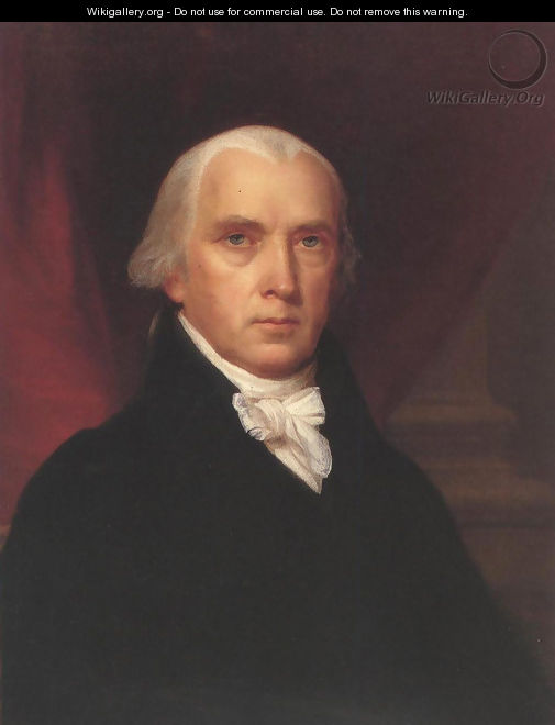 James Madison 1816 - John Vanderlyn