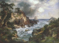 Point Lobos Monterey California 1912 - Thomas Moran