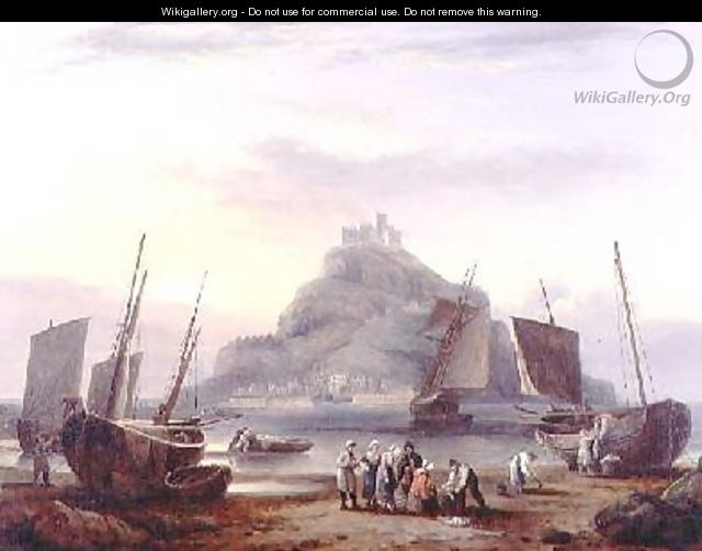 St Michaels Mount 1831 - Thomas Luny