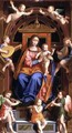Madonna and Child Enthroned - Bernardino Luini
